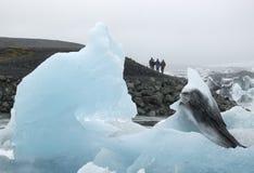 Melting ice. Stock Photo