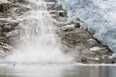 Melting ice Stock Image