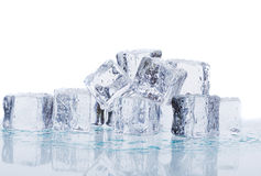 Melting ice Stock Image