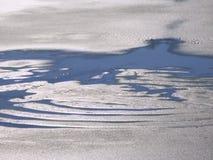 Melting Ice Background Stock Image