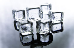 Melting ice cubes Stock Photos