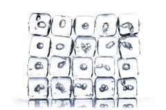 Melting ice cubes Royalty Free Stock Image