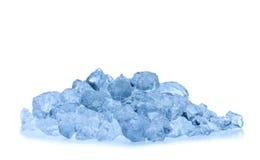 Melting ice cubes isolated on white background Royalty Free Stock Photography