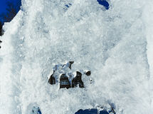 The melting of the ice figure. Stock Photography