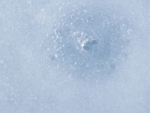 Melting ice Stock Photo