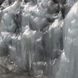 Melting ice mass Stock Photo