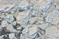 Melting ice over the Greenland Royalty Free Stock Photos