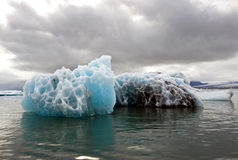 Melting Iceberg. See my other Images of Iceland Royalty Free Stock Photos