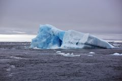 Melting Iceberg in Arctic ocean Stock Images