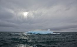Melting Iceberg in Arctic ocean Royalty Free Stock Image