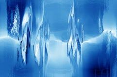 Melting iceblock vector illustration