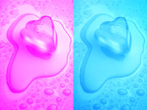 Melting Love Stock Photo
