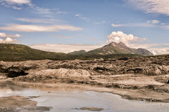 Melting Matanuska Glacier royalty free stock images