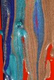 Melting paints Royalty Free Stock Image