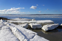 Melting of sea ice Stock Images