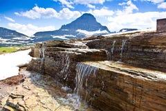 Melting Snow Waterfall Royalty Free Stock Image
