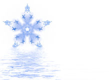 Melting Snowflake Stock Images