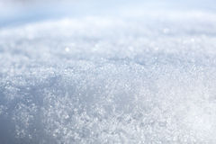Melting sparkle snow Royalty Free Stock Photos