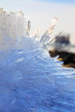 Melting spring ice, Taimyr, Russia Stock Photo