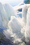 Melting spring ice, Taimyr, Russia Royalty Free Stock Photos