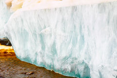 Melting spring ice, Taimyr, Russia Royalty Free Stock Image