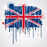 Melting UK flag Royalty Free Stock Photo