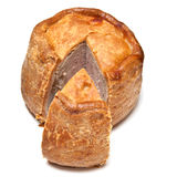 Melton Mowbray pork pie Royalty Free Stock Photos