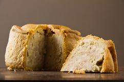 Free Melton Mowbray Pork Pie Cut Low Shot Royalty Free Stock Image - 30794166