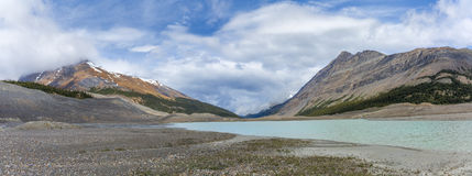 Meltwater from the Columbia Ice Field - Alberta, Canada Royalty Free Stock Image