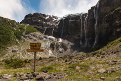 meltwater from glaciers in Nahuel Huapi National Park Stock Image