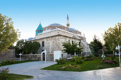 Melvani Museum, Konya Turkey. Melvani Museum in Kpnya, Turkey. The highlight is the tomb of Rumi and artifacts from the Whirling Dervish Sufi. The venue is a Royalty Free Stock Image