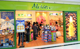 Melvita shop in Hong Kong Royalty Free Stock Photos