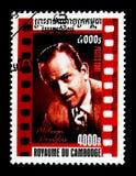 Melvyn Дуглас 1912-1981, американское serie кино, около 2001 Стоковое Изображение
