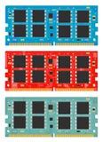 Memória do computador do módulo Imagem de Stock