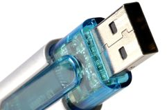 Memória do USB Foto de Stock Royalty Free