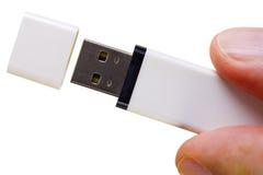 Memória Flash do USB fotografia de stock