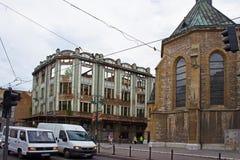 Memórias da guerra em Sarajevo Fotos de Stock
