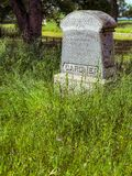 Memórias de Gardner Tombstone Monument foto de stock royalty free