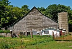 Memórias do terreiro e da exploração agrícola Fotografia de Stock
