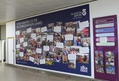Memórias Glasgow 2014 da comunidade fotografia de stock royalty free