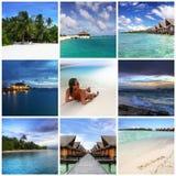 Memórias maldivas Imagens de Stock