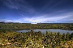 Memaloose trascura nell'Oregon fotografie stock libere da diritti