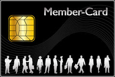 Member Card Royalty Free Stock Photography