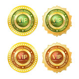 Member golden badge Royalty Free Stock Photos