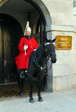 Member of the Queen's Horse Guard Royalty Free Stock Photography