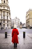 Member of the Queen`s Horse Guard at Horse Guards Parade London Royalty Free Stock Image