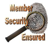 Member Security Ensured Stock Photography