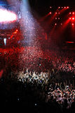 Members of ARMIN ONLY: Intense show with Armin van Buuren in Minsk-Arena on February 21, 2014 Stock Photos