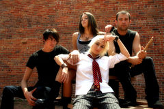 Members of a Band Stock Images
