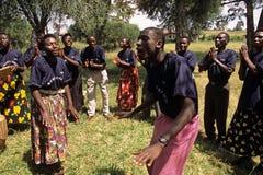 Members of Community Reproductive Health Workers, Uganda Royalty Free Stock Photos